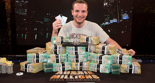 Canadian Ami Barer Claims Aussie Millions Main Event thumbnail