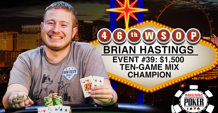 Brian Hastings First Double-Bracelet Winner of 2015 WSOP thumbnail