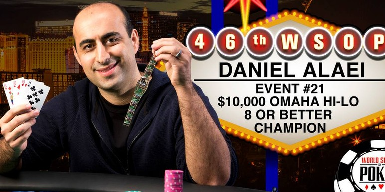 Daniel Alaei Picks Up 5th WSOP Bracelet thumbnail