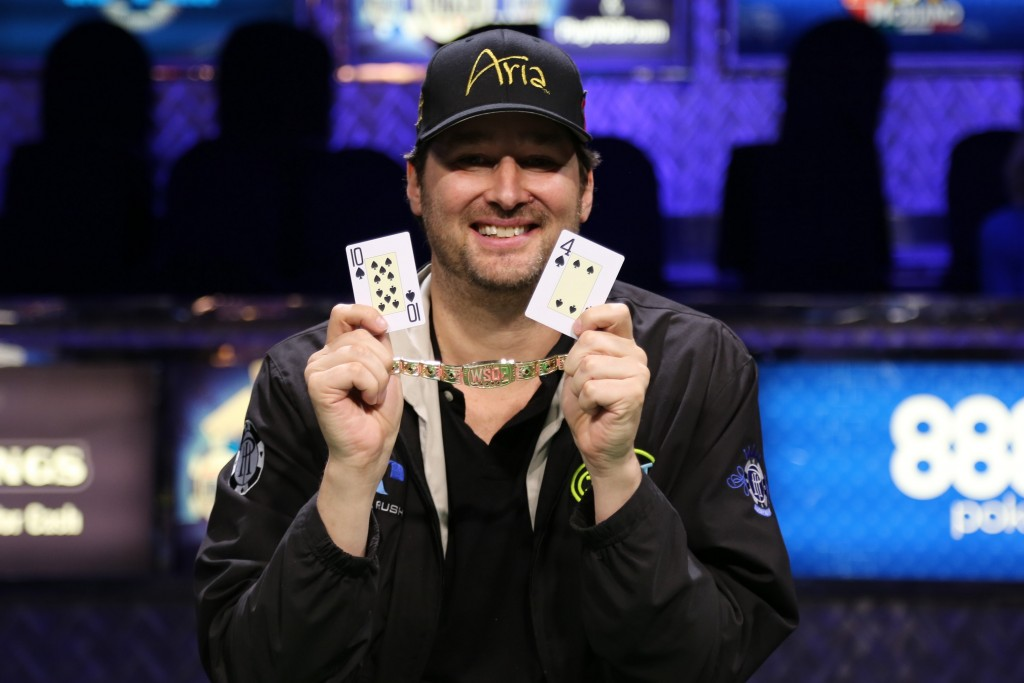 Phil Hellmuth Wins 14th WSOP Gold Bracelet thumbnail