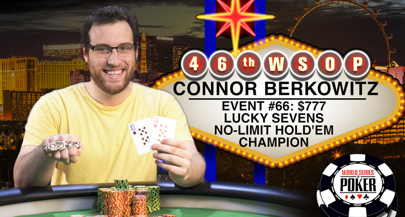 Connor Berkowitz Wins Lucky Sevens Event at WSOP thumbnail